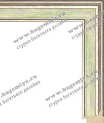 Багет деревянный НеоАрт, NeoArt