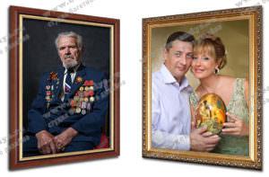 Картины маслом на холсте по фото