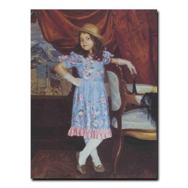 06ch_Александр Самсонов Барышня -кокетка Портрет Анны Скробот