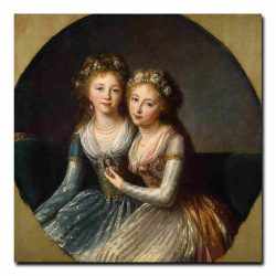 102g_Vigee Le Brun Elisabeth-Louise - Portrait of Emperor Pavel Is Daughters