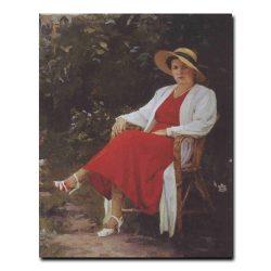103w_Марк Малютин Портрет жены