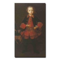 106ch_Иван Вишняков Портрет князя Федора Николаевича Голицына в детстве