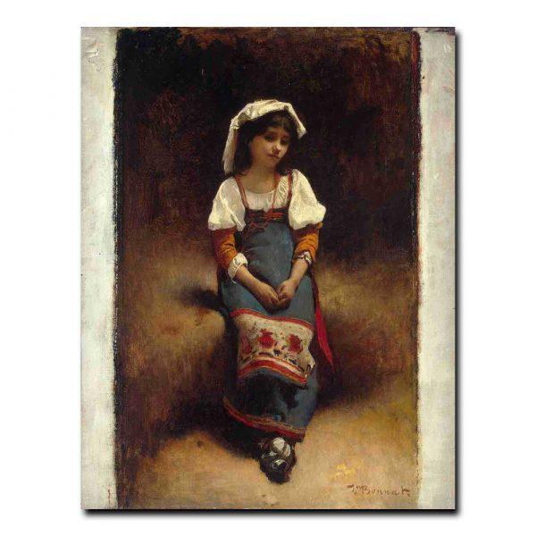 108ch_Bonnat Leon Joseph Florentin - Italian Woman
