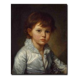 109ch_Greuze Jean-Baptiste - Portrait of Count Pavel Stroganov as A Child