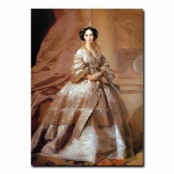 10w_Иван Макаров Портрет императрицы Марии Александровны,жены Александра второго