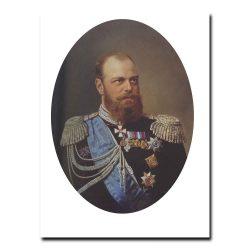 118m_Николай Шильдер Портрет Александра третьего