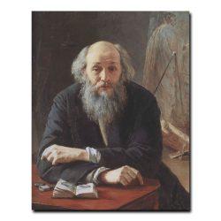 120m_Николай Ярошенко Портрет художника Николая Николаевича  Ге