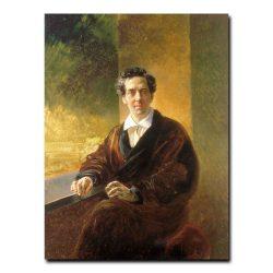 138m_Брюллов, Карл Павлович. Портрет графа Перовского - писателя Антония Погорельского