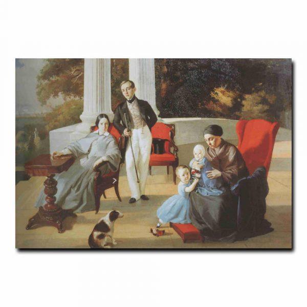 139g_Евграф Сорокин Семейный портрет