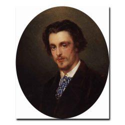 145m_Портрет В.Е.Маковского, брата художника. 1868