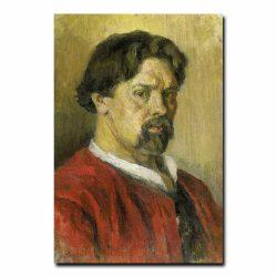 151m_Суриков В.И.  1902 Автопортрет