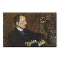 154m_Сергей Малютин Портрет художника Апполинария Михайловича Восницова