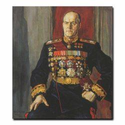 160m_Павел Корин Портрет маршала Георгия Константиновича Жукова
