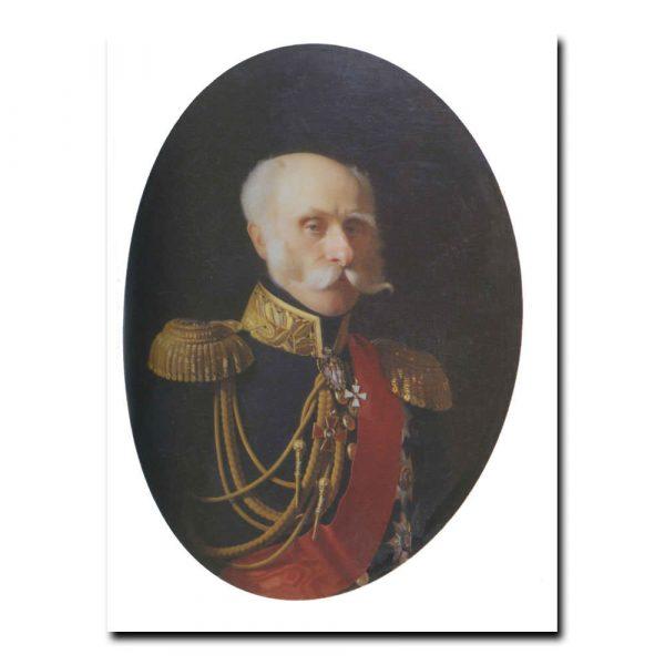 168m_Сергей Зарянко Портрет вице-адмирала Федора Петровича Литке