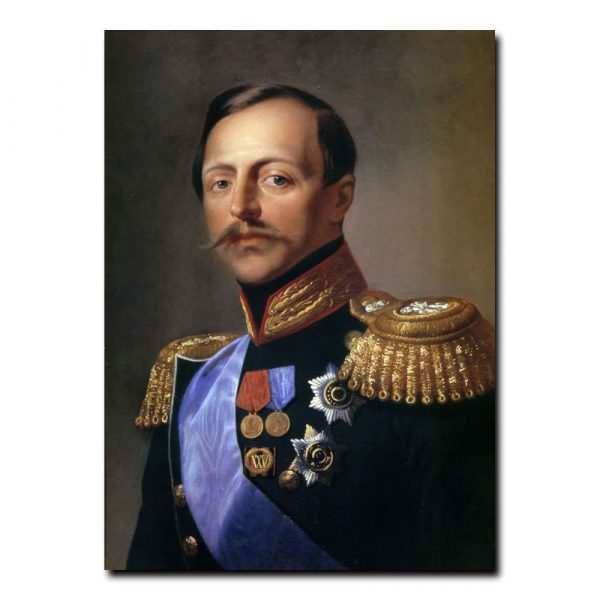 176m_Кирилл Горбунов Портрет Военного