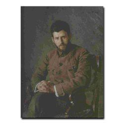 18m_Александр Маковский Портрет Григорьева