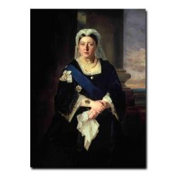 FC28047 Credit: Queen Victoria (1819-1901) after Baron Heinrich von Angeli (1840-1925) (oil on canvas) by Ward, Henrietta Mary (1832-1924)©FORBES Magazine Collection, New York, USA/ The Bridgeman Art LibraryNationality / copyright status: English / out of copyrightPLEASE NOTE: The Bridgeman Art Library works with the owner of this image to clear permission. If you wish to reproduce this image, please inform us so we can clear permission for you.ADDITIONAL USAGE RESTRICTION: STRICTLY FOR EDITORIAL, EDUCATIONAL AND SCHOLARLY USE ONLY
