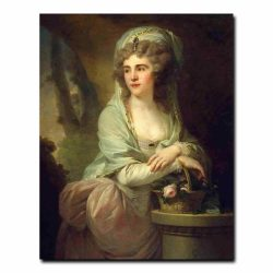 19w_Lampi Johann-Baptist I - Portrait of Yekaterina Samoilova