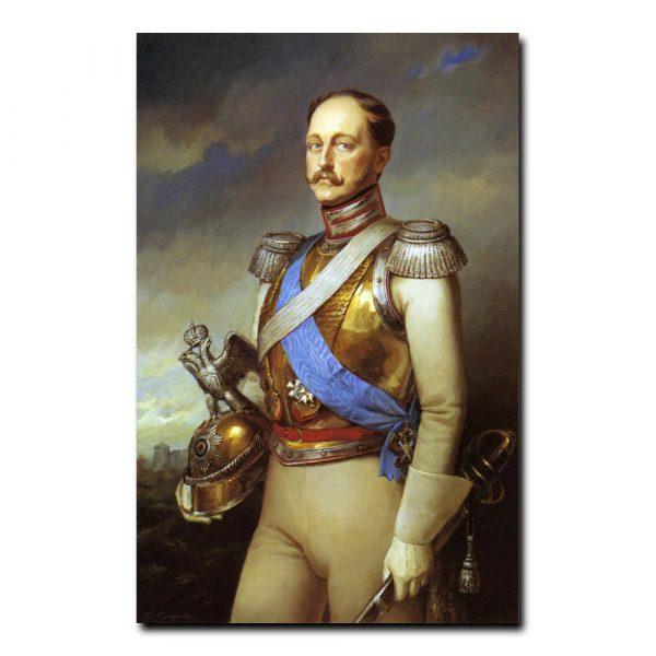 203m_Дмитрий Слепушкин Портрет императора Николая первого