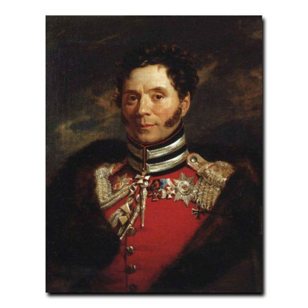 218m_Джордж Доу Портрет Н.и. Депрерадовича ,генерала от кавалерии,командира Кавалергардского полка