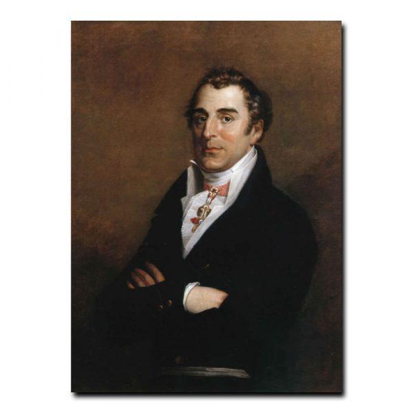223m_Джордж Доу Портрет герцога Веллингтона