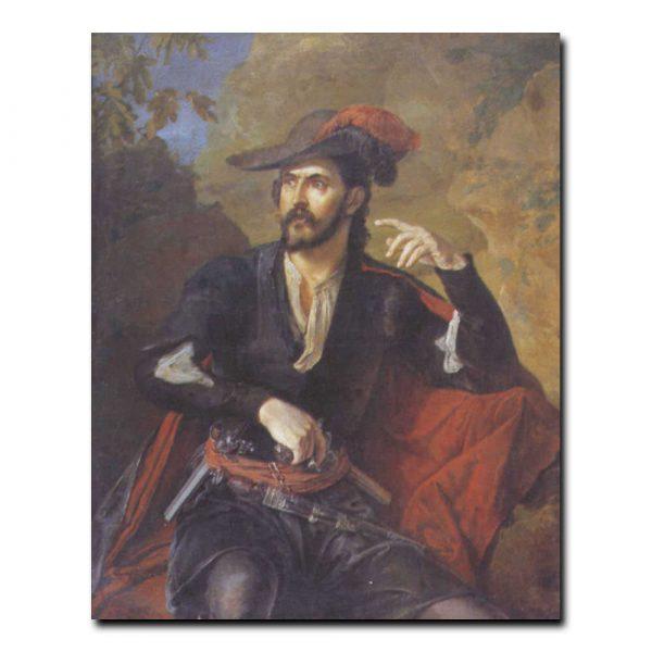 244m_Василий Тропинин Портрет князя М.А.Оболенского