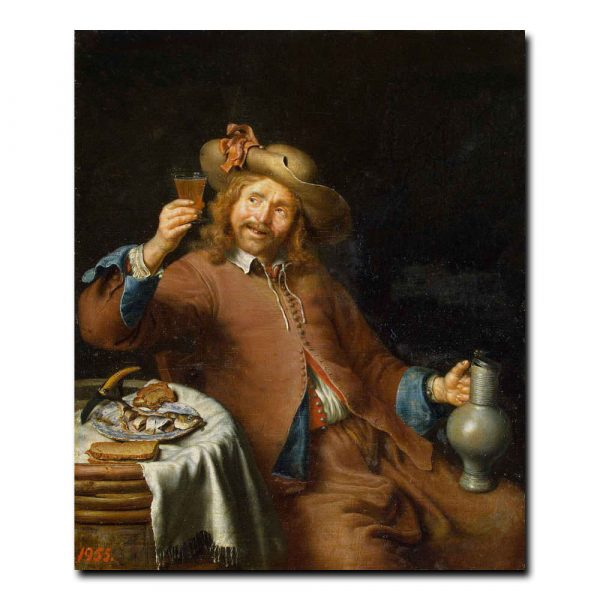 256m_Slingeland Pieter Cornelisz van - Breakfast of a Young Man
