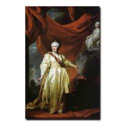 284w_Дмитрий Левицкий Портрет Екатерины второй в виде законадательницы в храме богини Правосудия