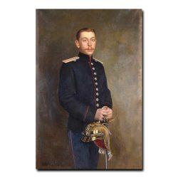 286m_Shtemberg Victor Karlovich - Portrait of Count D. A. Sheremetev Cornet of the Horse-Guards Regiment