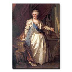291w_Лампи Старший ,Иоганн-Батист  Портрет императрицы Екатерины второй