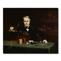 Thomas Alva Edison by Abraham Archibald Anderson