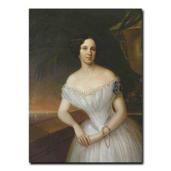 306w_Г.Яковлев Парадный женский портрет