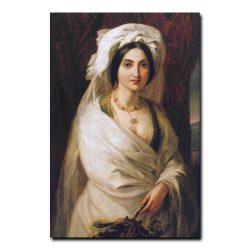 317w_Аполлон Мокрицкий Женский портрет