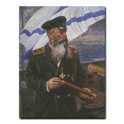 322m_Алексей Евстегнеев Портрет адмирала С.О.Макарова
