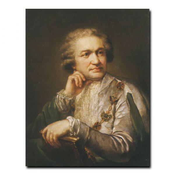 361m_Андрей Жданов Портрет графа А.С. Строганова,действительного статского советника ,президента Академии Хужожеств