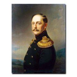 363m_Vernet Horace - Portrait of Emperor Nicholas I