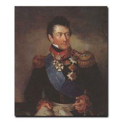 388m_Карл Рейхель Портрет графа ,генерала от инфантерии Александра Федоровича Ланжерона градоначальгника Одессы