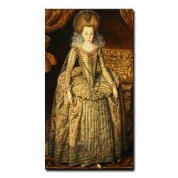 Portrait of Queen Elizabeth of Bohemia by Robert Peake, the Elder