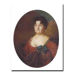 411w_Андрей Матвеев Портрет княгини А.П.Голицыной.