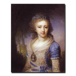 425w_Владимир Боровиковский Портрет великой княжны Елены Павловны