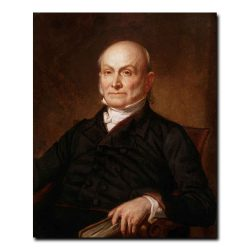 John Quincy Adams by George Peter Alexander Healy