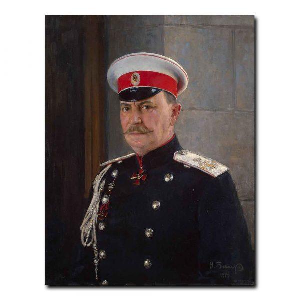 434m_Bekker Nikolai - Portrait of Prince F. F. Yusupov Count Sumarokov-Elston