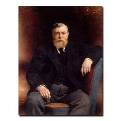 436m_Bonnat Leon Joseph Florentin - Portrait of Prince Vyacheslav Tenishev