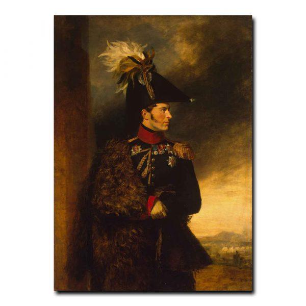 446m_Dawe George - Portrait of Alexander S. Menshikov