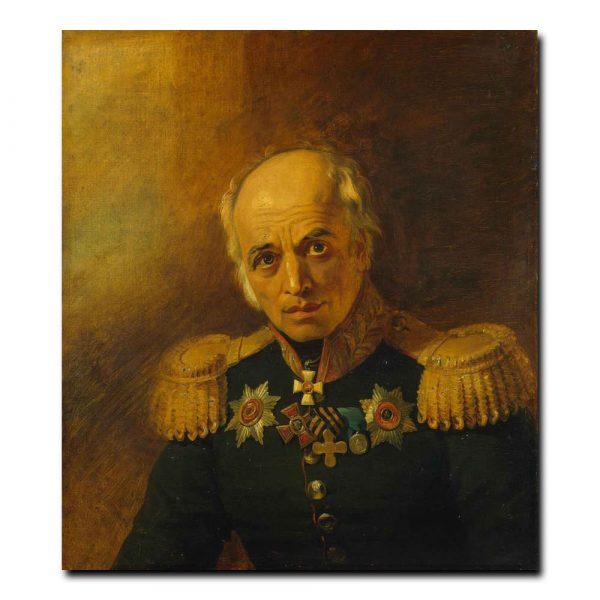 448m_Dawe George - Portrait of Panteleimon Ye. Benardos