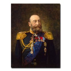 456m_Pershakov Alexander Fyodorovich - Portrait of Admiral E. I. Alexeyev