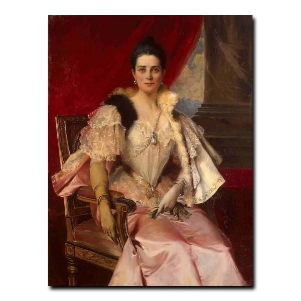 45w_Flameng Francois - Portrait of Princess Z. N. Yusupova