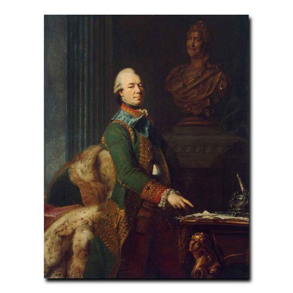 460m_Roslin Alexander - Portrait of Count Zakhar Chernyshev