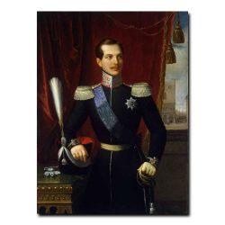 461m_Schiavoni Natale - Portrait of Grand Prince Alexander Nikolayevich