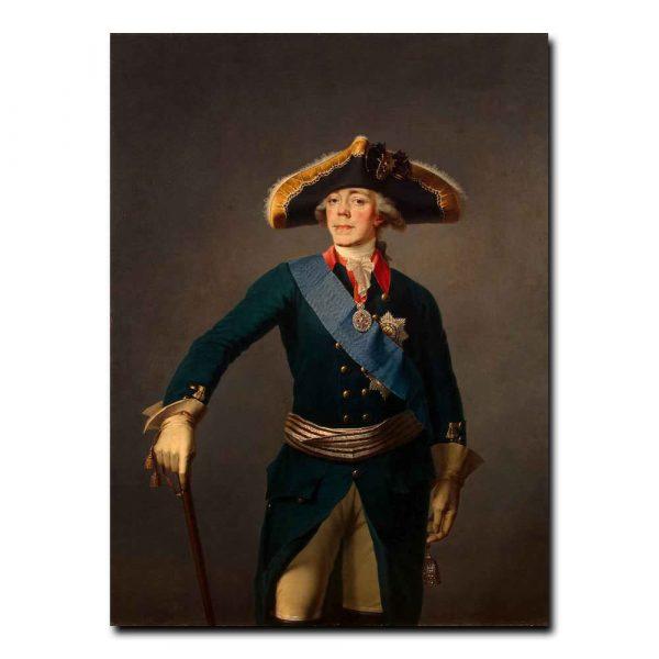 462m_Shchukin Stepan - Portrait of Paul I